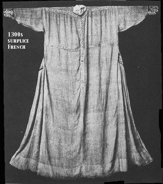 1300s surplice, French. National Museum, Munich