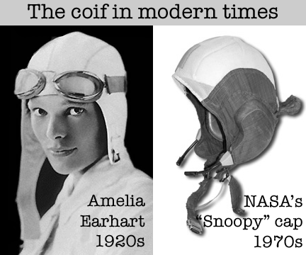 Amelia Earheart and Snoopy Cap from NASA  coifs in the modern age 28f9e39950d