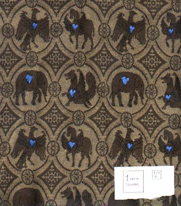 Modern Imitations Of Medieval Fabric