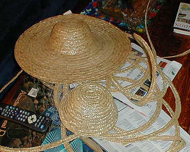 how to make a medieval straw hat